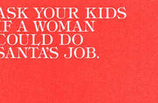 This Ad Asks Kids If Santa Could Be a Woman & Their Answers Raise Concerns