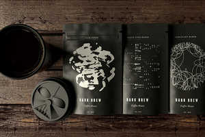 The Dark Brew Coffee Range is Targeted to Star Wars Film Fans