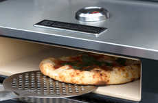 Flattened Pizza Ovens - The BakerStone Offers a Sleek and Box Style Oven Extension for Cooking