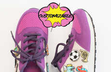 Customizable Sneaker Kits - Fayvel's Sneaker Stickers Let Kids Play a Designer Role