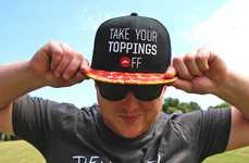 Branded Pizza-Themed Merchandise - The Pizza Hut Swag Shop Sells Branded Apparel and Accessories