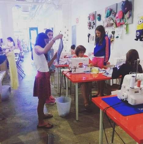 Tween Sewing Studios - Sew Be It Studio's Sewing Workshops Encourage Kids to Get Creative