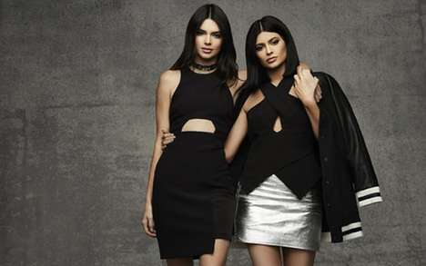 Celebrity Holiday Couture - Topshop Teamed Up with Kendall and Kylie Jenner for a Festive Lineup