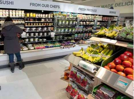 Pharmacy Produce Markets - Shoppers Drug Mart Now Features Fresh Produce Offerings