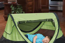 Pop-Up Child Tents - The KidCo 'Peapod' Portable Bed for Kids Enables Rest Wherever You Are
