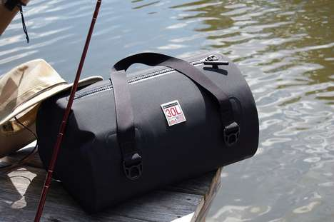 Rugged Waterproof Luggage - The 'Mad Water' USA Waterproof Duffel Bag Can be Submerged up to 15-Feet
