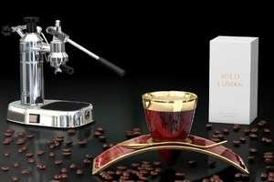 This Co-Branded Coffee Set Brings Opulence to Your Morning Cup of Joe