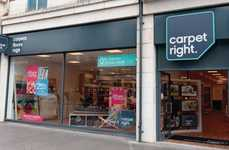 Contemporary Carpeting Retailers - Carpetright Overhauled Its Business by Upgrading In-Store Tech