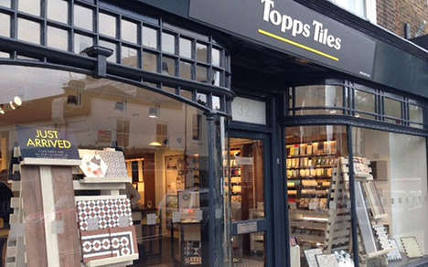 Hybrid Tile Stores (UPDATE) - Topps Tiles' Boutique Format Wins Over Tradesmen and Homeowners