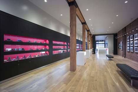 Camera Shop Galleries - This Leica Store in California Features Minimal Fixtures
