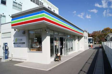 Eco-Friendly Tech Shops - Panasonic's Ex-Store Has Its Own Sustainable Power Unit