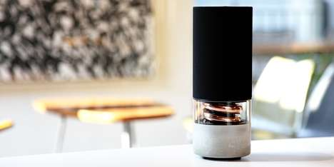 Architecture-Inspired Speakers - The 'Pavilion' Wireless Speaker & Acoustic System Blends Technology