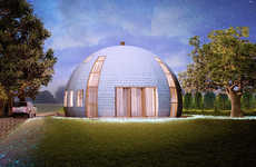 Spherical Skydome Cottages