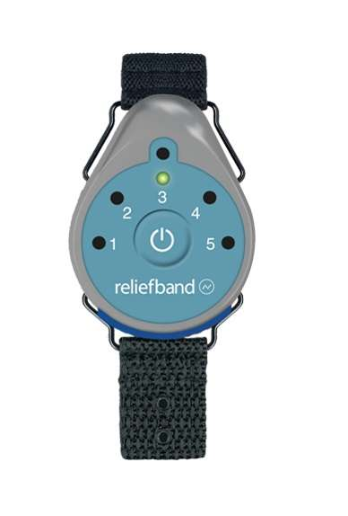 Nausea Prevention Wearables - The ReliefBand Uses Programmed Pulses to Help Users Avoid Sickness