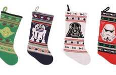 From Interplanetary Christmas Socks to Printed Pop Culture Socks