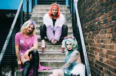 Cruelty-Free Hair Editorials - Glasgow's Cruelty-Free Color Bar BLOW is Promoted in a Dynamic Shoot