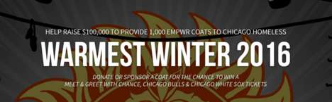 Winter Coat Clothing Drives - This Rapper is Providing Winter Coats for the Homeless
