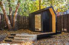 Tranquil Writing Pavilions - This Tiny Backyard Studio is Reserved for Creative Writing