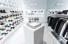 Women-Only Streetwear Boutiques - The KITH Women's Store in NYC Celebrates the New Line