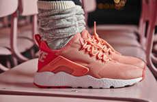 Exoskeleton-Like Women's Kicks - The Nike Air Huarache Ultra Have Been Released for Women