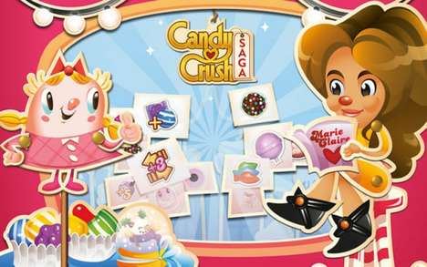 Fashion Magazine Games - The Marie Claire Level in Candy Crush is Designed for Fashion Fans