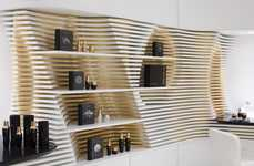 Undulating Boutique Interiors