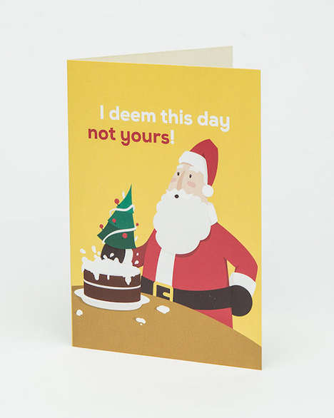 Holiday-Sharing Birthday Cards - Gyppd Greeting Cards Help You Honor Those With Christmas Birthdays