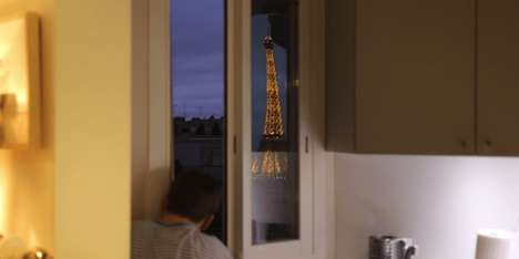 Parisian Monument Periscopes - This Device Uses Mirrors to Improve Seeing the Eiffel Tower