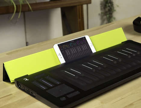Smart Digital Keyboard Cases - The Seaboard RISE Flip Case by Roli Provides Function and Protection