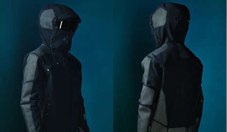 Winter Survival Outerwear - The Vollebak Condition Black Jacket is Designed for Brutal Conditions