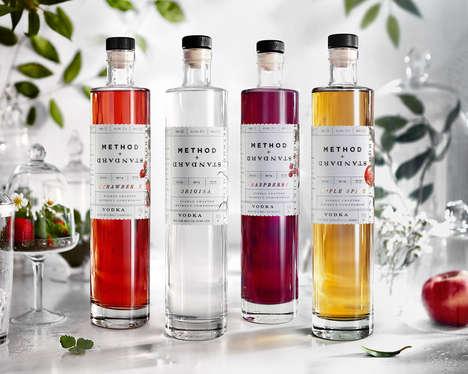 Gluten-Free Vodka Branding - Method + Standard Vodka is an All-American Spirit Perfect for Cocktails
