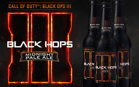 Shooter Game-Inspired Beers - Australia's Black Hops Brewing Created a Beer Inspired by Call of Duty
