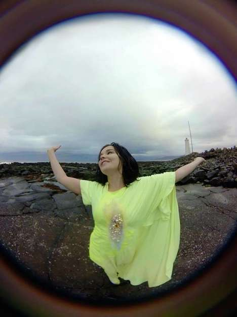 VR Music Video Apps - Bjork Recently Re-Released Her 360-Degree Video as a VR App