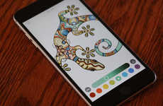 Tablet-Based Coloring Books