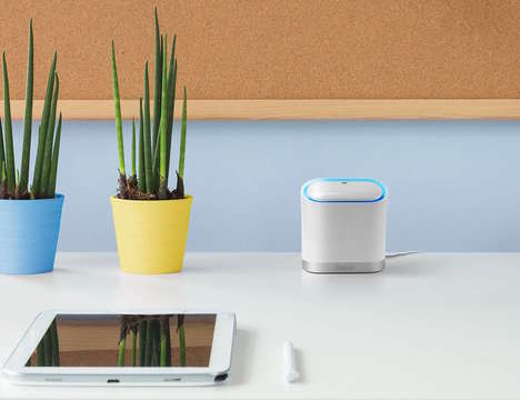Secure Sculptural Routers - The 'Keewifi Kisslink' WiFi Range Extender Keeps Home Networks Safe