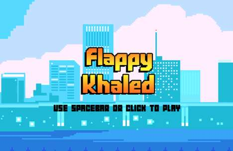 Jet-Skiing DJ Games - 'Flappy Khaled' is a Video Game Based on DJ Khaled's Inspiring Snapchats