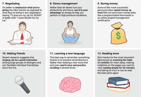 Skillful Life Guides - This Infographic Shares 12 Personable Skills to Master in a Lifetime