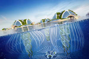 This Underwater City Would Be 3D Printed Using Found Ocean Garbage