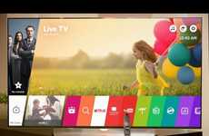 Smart TV OS Updates - The New LG WebOS 3.0 Adds New Functionality and Will Debut at CES 2016