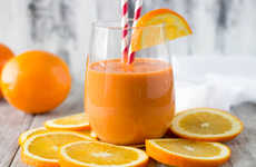 Distressing Citrus Smoothies - This Orange and Carrot Smoothie Naturally Prevents Flus and Colds