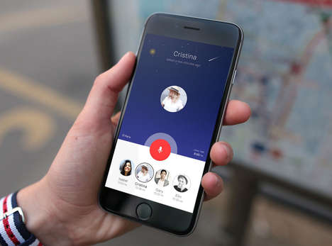 Walkie-Talkie Messaging Platforms - The Roger App Allows Voice Calls to Occur Without Using Minutes