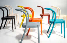 Technicolor Stackable Chairs