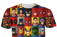 Portraiture Superhero Shirts