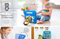 Toddler Tablet Cases - The rooCASE 'Starglow' iPad Mini 4 Case Transforms the Tablet into a Toy