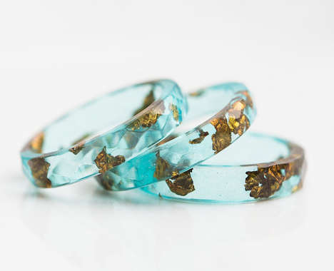Resin Wedding Rings