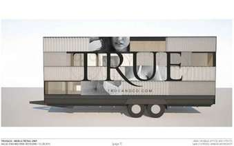 Mobile Lingerie Boutiques - The 'Try-On Truck' Allows Women to Shop for Lingerie on the Go