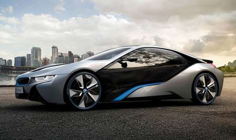 Gesture-Control Vehicles - The BMW i8 Spyder Concept Will Be at CES 2016 and Feature AirTouch