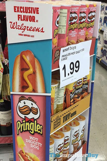 Hot Dog-Flavored Chips - This Brand is Currently Testing Out 'Hot Diggity Dog Pringles'