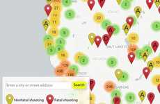 Shooting-Showing Maps - This Interactive Map Shows Local Gun Violence Relative to Your Location