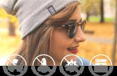 Radiation-Blocking Beanies - 'Shield' Headwear Provides Winter Hats that Block Electromagnetic Waves